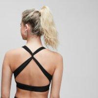 MP Women's Power Cross Back Sports Bra - Black - XL