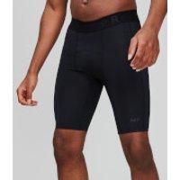 MP Essentials Training Baselayer Shorts - Black - L