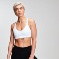 MP Women's Power Mesh Sports Bra - White - S