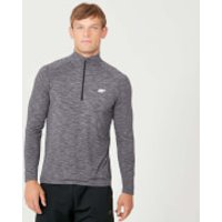 Image of Myprotein Performance 1/4 Zip Top - Charcoal Marl - XXL
