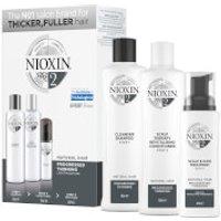 Tratamiento de 3 pasos para pérdida progresiva de cabello no teñido NIOXIN