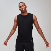 MP Luxe Classic Drop Armhole Tank Top - Black - S