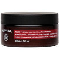 APIVITA Holistic Hair Care Color Protection Hair Mask - Sunflower & Honey 200ml