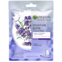 Garnier Moisture Bomb Lavender Hydrating Face Sheet Mask for Fatigued Skin 32g