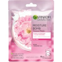 Garnier Moisture Bomb Sakura Hydrating Face Sheet Mask for Dull Skin 32g