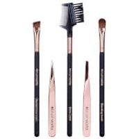 brushworks Luxury Brow Set - Rose Gold