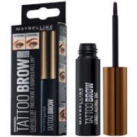 Maybelline Brow Tattoo Longlasting Tint 4.9ml (Various Shades) - 15 Warm Brown