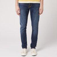 Nudie Jeans Men's Lean Dean Tapered Jeans - Dark Deep Worn - W34/L32 - Blue