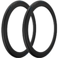Pirelli P Zero Velo 4S Folding Road Tyre Twin Pack - 700X23C