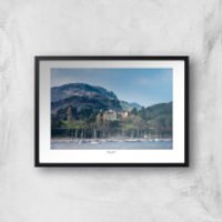 Thunderbolt Photography Conwy River View Art Print - A4 - White Frame