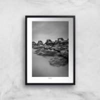 Thunderbolt Photography Wave Breaker, New Brighton Art Print - A3 - No Hanger - Photography Gifts