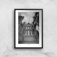Thunderbolt Photography Whitby Abby Art Print - A3 - No Hanger - Photography Gifts