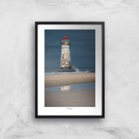 Thunderbolt Photography Talacre Lighthouse Art Print - A4 - No Hanger - Photography Gifts