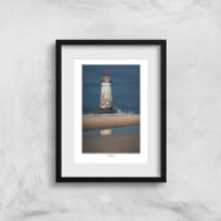 Thunderbolt Photography Talacre Lighthouse Art Print - A3 - No Hanger - Photography Gifts