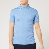 Polo Ralph Lauren Men's Pima Cotton Slim Fit Polo Shirt - Soft Royal Heather - XXL