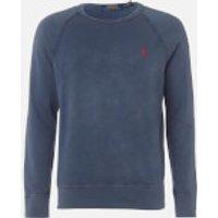 Polo Ralph Lauren Men's Towelling Lightweight Sweatshirt - Cruise Navy - M - Blue