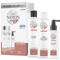NIOXIN 3-Part System 3 Loyalty Kit for Coloured Hair with Light Thinning