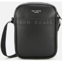 Ted Baker Men's Debossed Flyer Flight Bag - Black