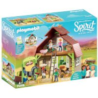 Playmobil DreamWorks Spirit Barn with Lucky, Pru and Abigail (70118) - Playmobil Gifts