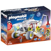 Playmobil Space Mars Research Vehicle with Interchangeable Attachments (9489) - Playmobil Gifts