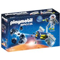 Playmobil Space Satellite Meteoroid Laser with Working Cannon (9490) - Working Gifts