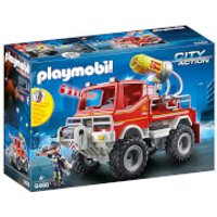 Playmobil City Action Fire Truck with Cable Winch and Foam Cannon (9466) - Playmobil Gifts