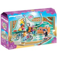 Playmobil City Life Bike and Skate Shop with Ramp (9402) - Shop Gifts