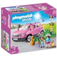 Playmobil City Life Family Car with Parking Space and Removeable Windshield (9404) - Life Gifts
