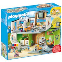 Playmobil City Life Furnished School Building with Digital Clock (9453) - Life Gifts