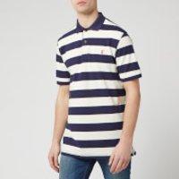 Joules Men's Filbert Striped Classic Fit Polo Shirt - Navy Cream Stripe - S - Multi