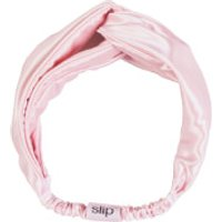 Slip Silk Twist Headband (Various Colours) - Pink