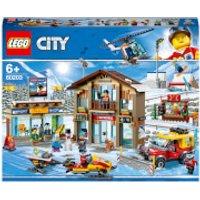 LEGO City Town: Ski Resort (60203) - Ski Gifts