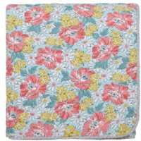 Helena Springfield Mary Jane Quilted Bedspread - Duck Egg