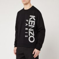 KENZO Men's Vertical Logo Sport Sweatshirt - Black - XS