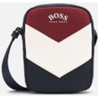 BOSS Mens Hyper Mini Messenger Bag - Red/White/Blue