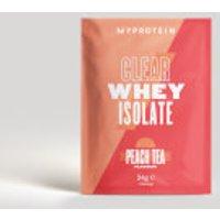 Myprotein Clear Whey Isolate  Sample    24g   Peach Tea