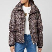 Golden Goose Deluxe Brand Womens Yuri Down Jacket - Leopard