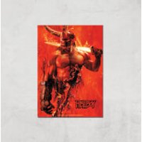 Hellboy Son Of The Fallen One Art Print - A3 - Print Only - Son Gifts