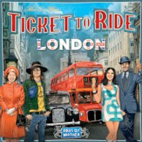 Ticket To Ride: London Board Game - Board Game Gifts