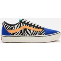 Vans Vans ComfyCush Old Skool Trainers - Tidepool/Surf The Web - UK 3 - Blue/Multi