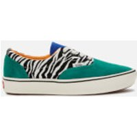 Vans Vans ComfyCush Era Zebra Print Trainers - Tidepool/Surf The Web - UK 7 - Green/Multi