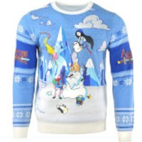 Adventure Time Festive Winter Kintted Christmas Jumper - XXXXL - Adventure Time Gifts