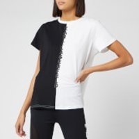 Puma X Karl Lagerfeld Women's Short Sleeve Open Back T-Shirt - Puma Black - M - Black