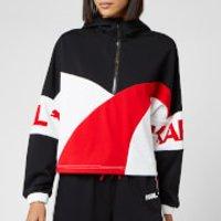 Puma X Karl Lagerfeld Women's XTG Half Zip Hooded Jacket - Puma Black - S - Black
