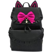 Loungefly Overwatch Faux Leather Drawstring Mini Backpack
