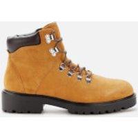 Vagabond Women's Kenova Suede Hiking Style Boots - Golden Oat - UK 8 - Tan