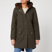 Joules Women's Piper Parka - Heritage Green - UK 10