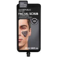 Skin Republic Mens Charcoal Facial Scrub 25ml