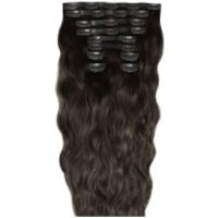 Beauty Works 18 Inch Beach Wave Double Hair Extension Set (Various Shades) - Raven