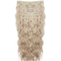 Beauty Works 22 Inch Beach Wave Double Hair Extension Set (Various Shades) - L.A. Blonde